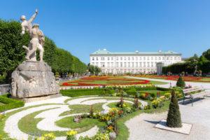 Stadtrundfahrt Salzburg - Mirabell Garten